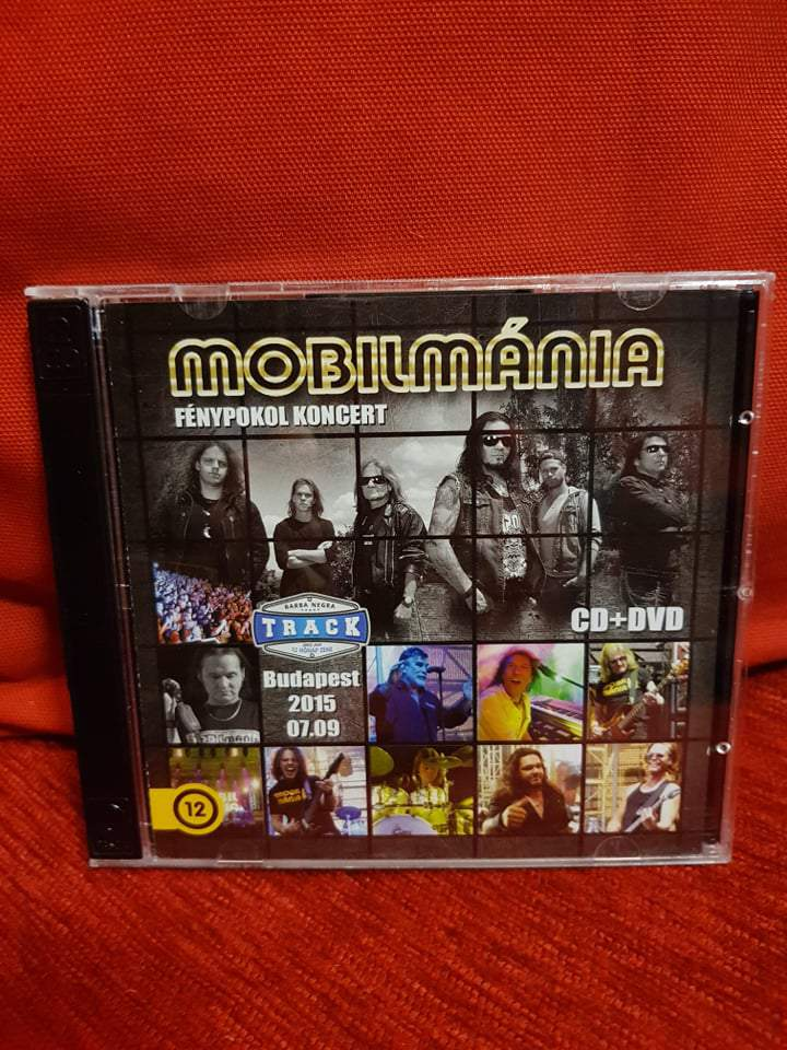 MOBILMÁNIA - FÉNYPOKOL KONCERT CD+DVD