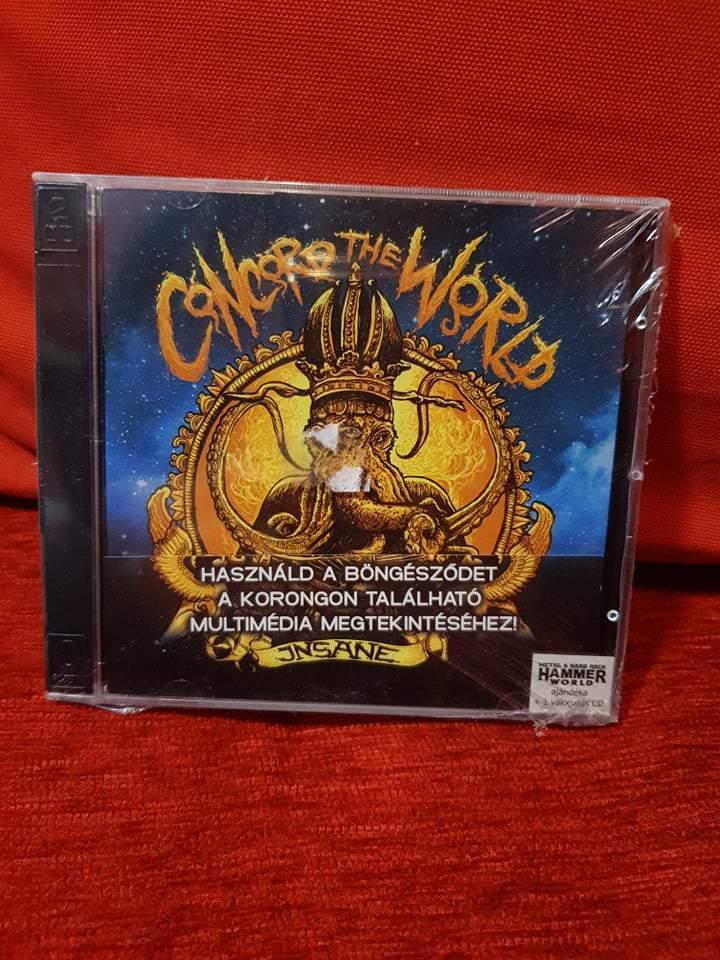 INSANE - CONCORD THE WORLD CD