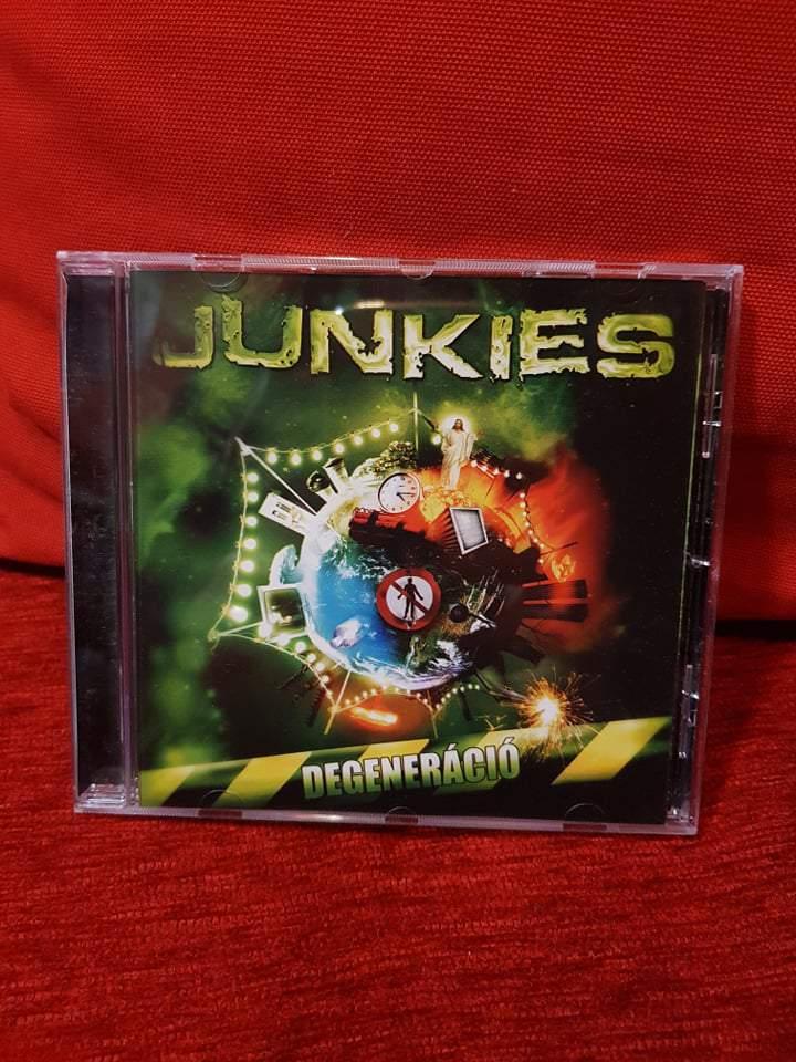 JUNKIES - DEGENERÁCIÓ CD