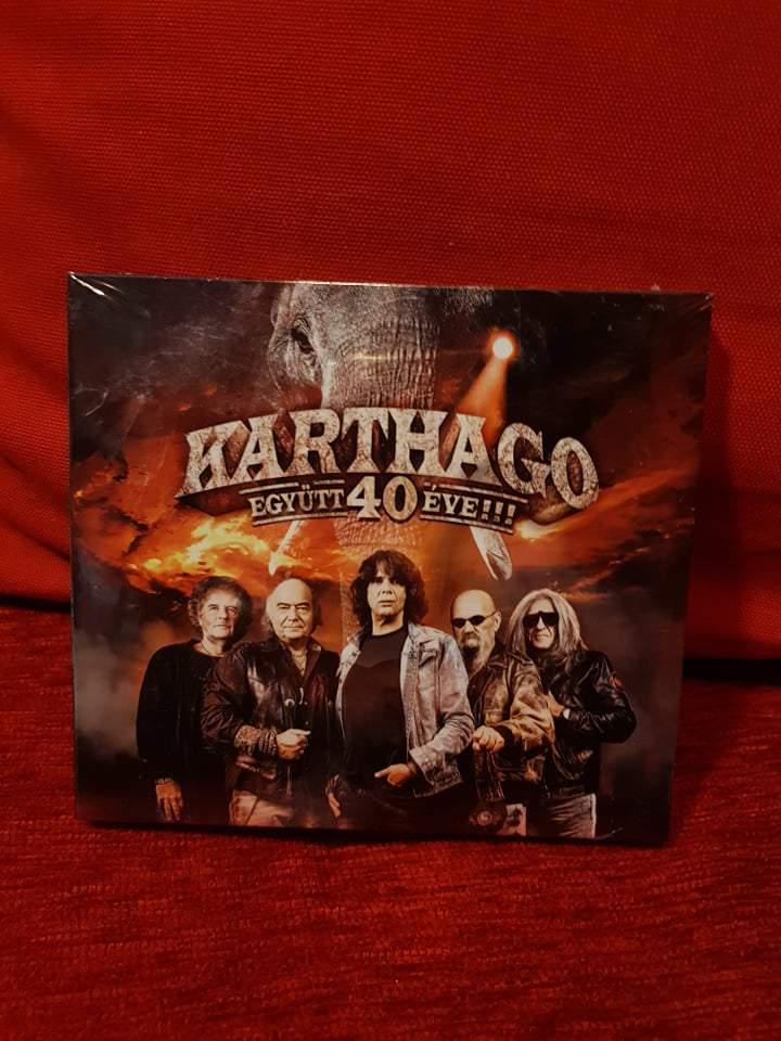 KARTHAGO - EGYÜTT 40 ÉVE CD