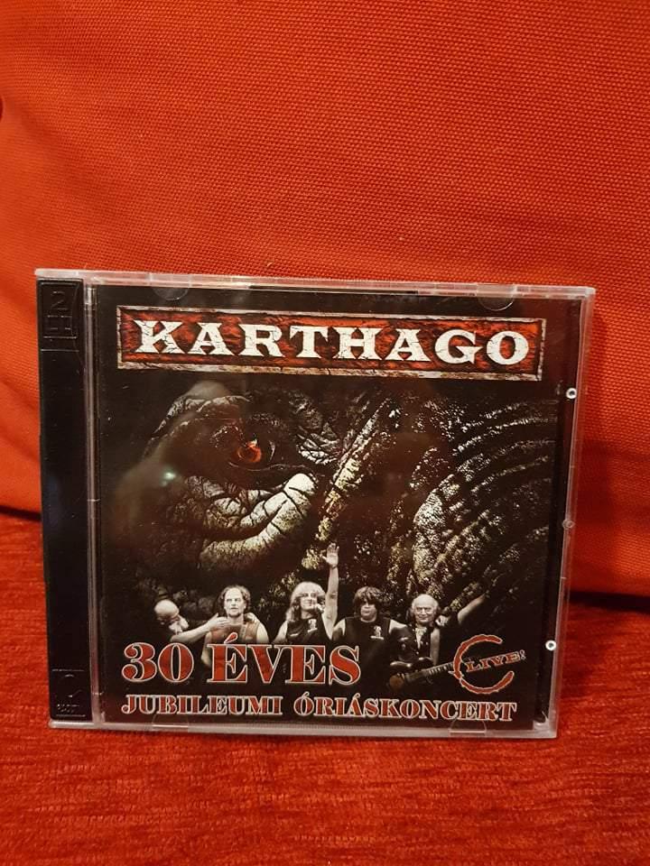 KARTHAGO - 30 ÉVES JUBILEUMI ÓRIÁSKONCERT 2CD