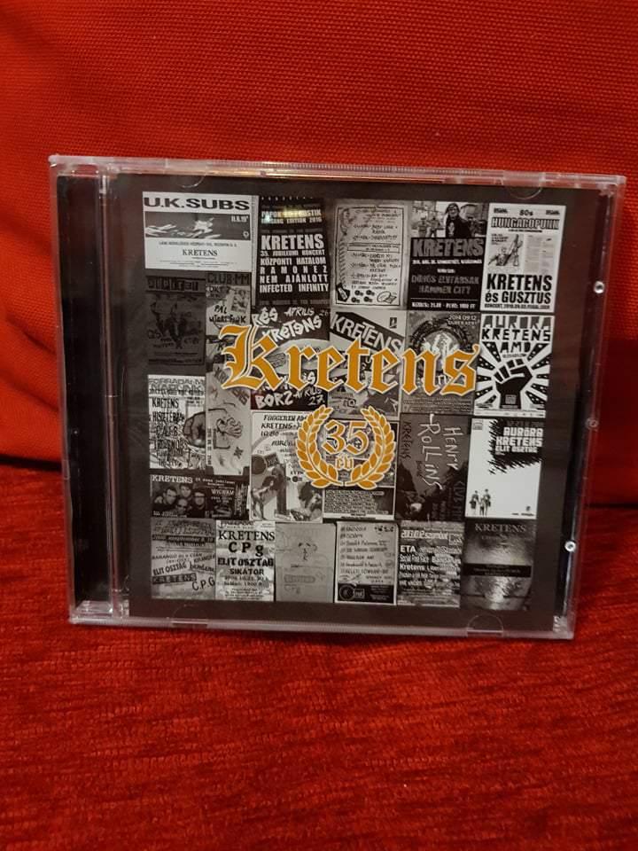 KRETENS - 35 ÉV CD