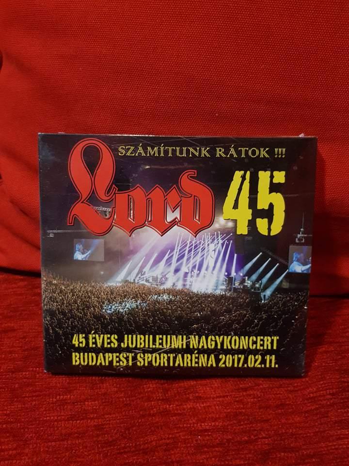 LORD 45 ARÉNA KONCERT - SZÁMÍTUNK RÁTOK 2CD