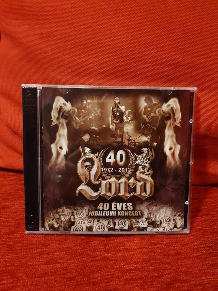 LORD - 40 ÉVES JUBILEUMI KONCERT 2CD
