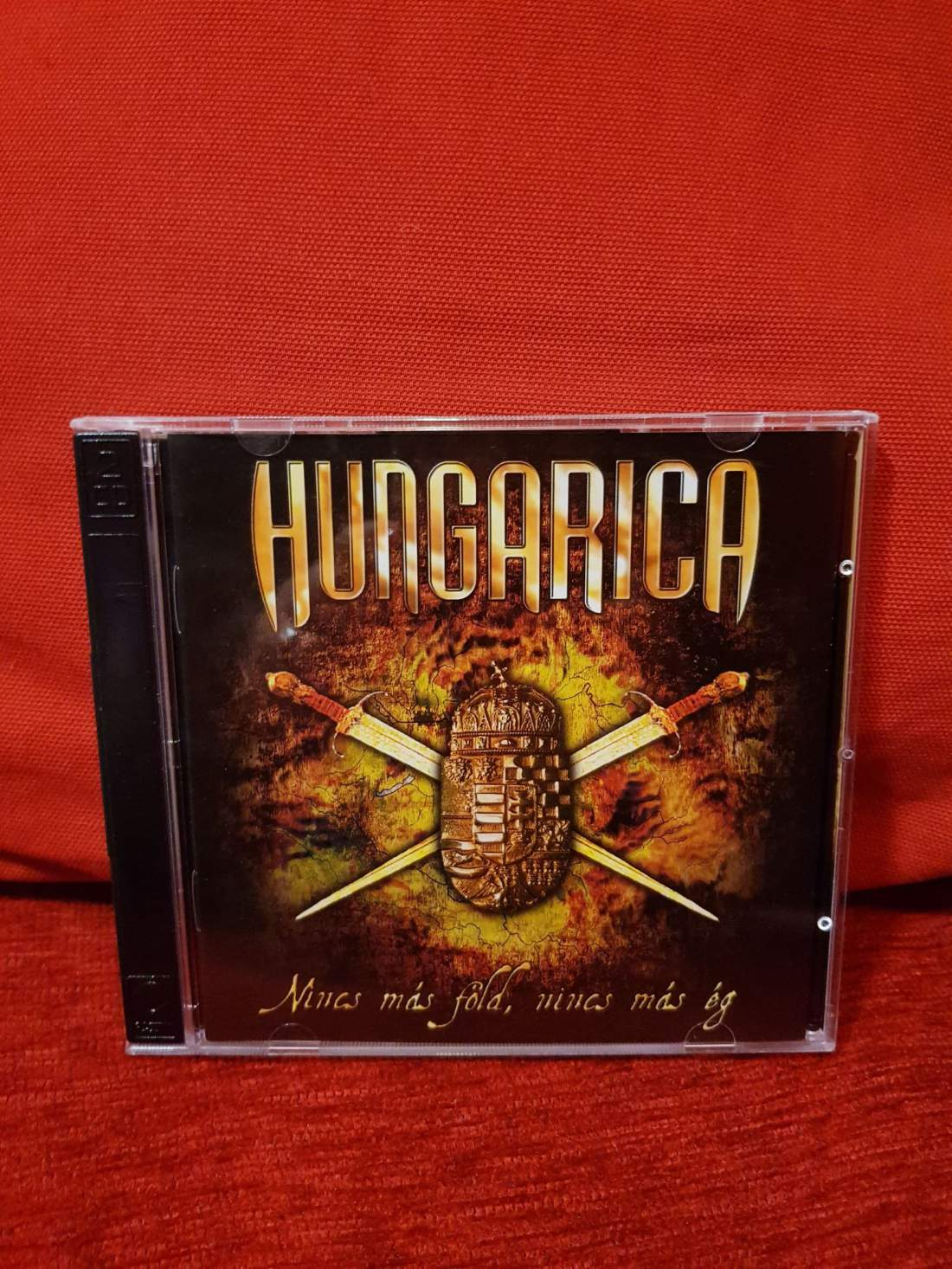 HUNGARICA - NINCS MÁS FÖLD, NINCS MÁS ÉG CD+DVD