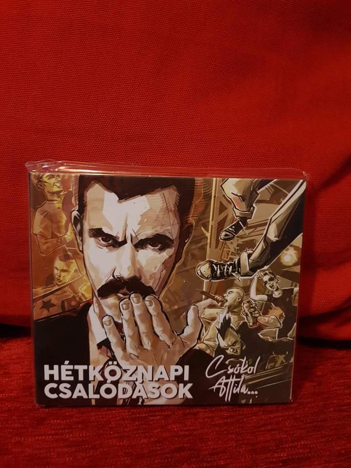 HÉTKÖZNAPI CSALÓDÁSOK - CSÓKOL ATTILA... CD