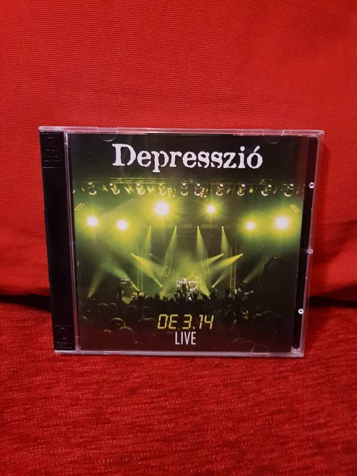 DEPRESSZIÓ - DE3, 14 LIVE CD+DVD