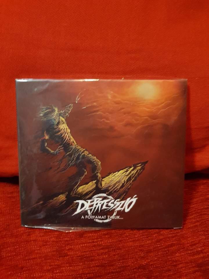 DEPRESSZIÓ - A FOLYAMAT ZAJLIK CD