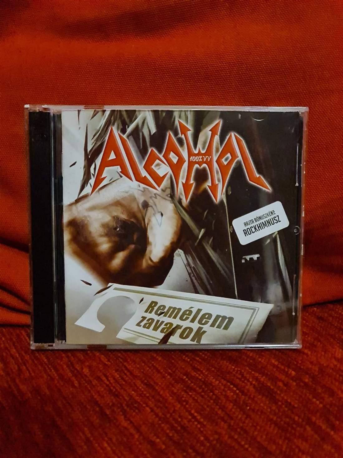 ALCOHOL - REMÉLEM ZAVAROK CD