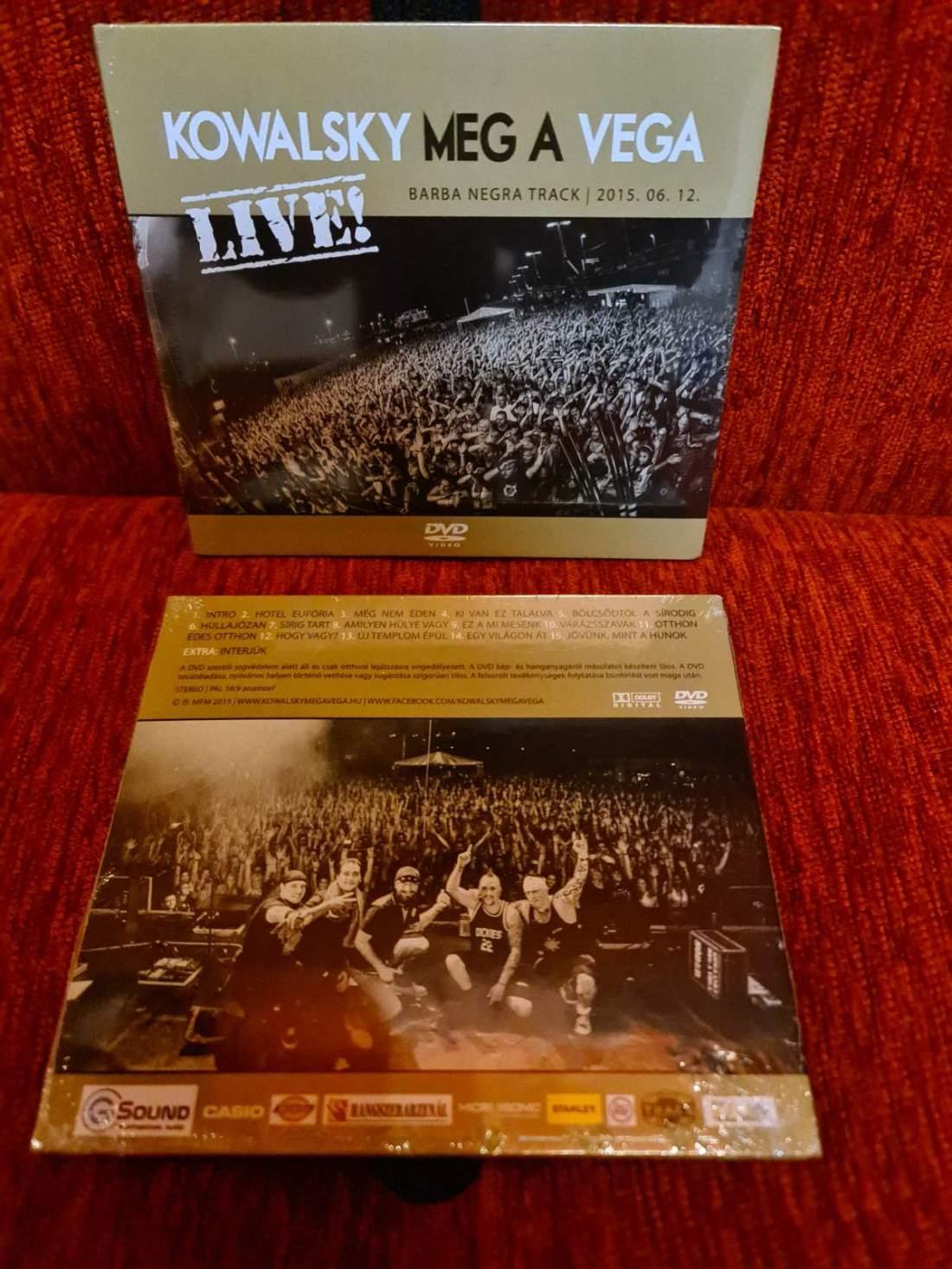 KOWALSKY MEG A VEGA - LIVE! DVD
