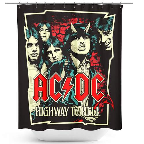AC/DC - HIGHWAY TO HELL - ZUHANYFÜGGÖNY