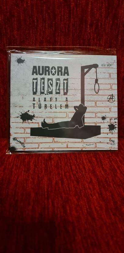 AURORA - TESZT ALATT A TÜRELEM CD