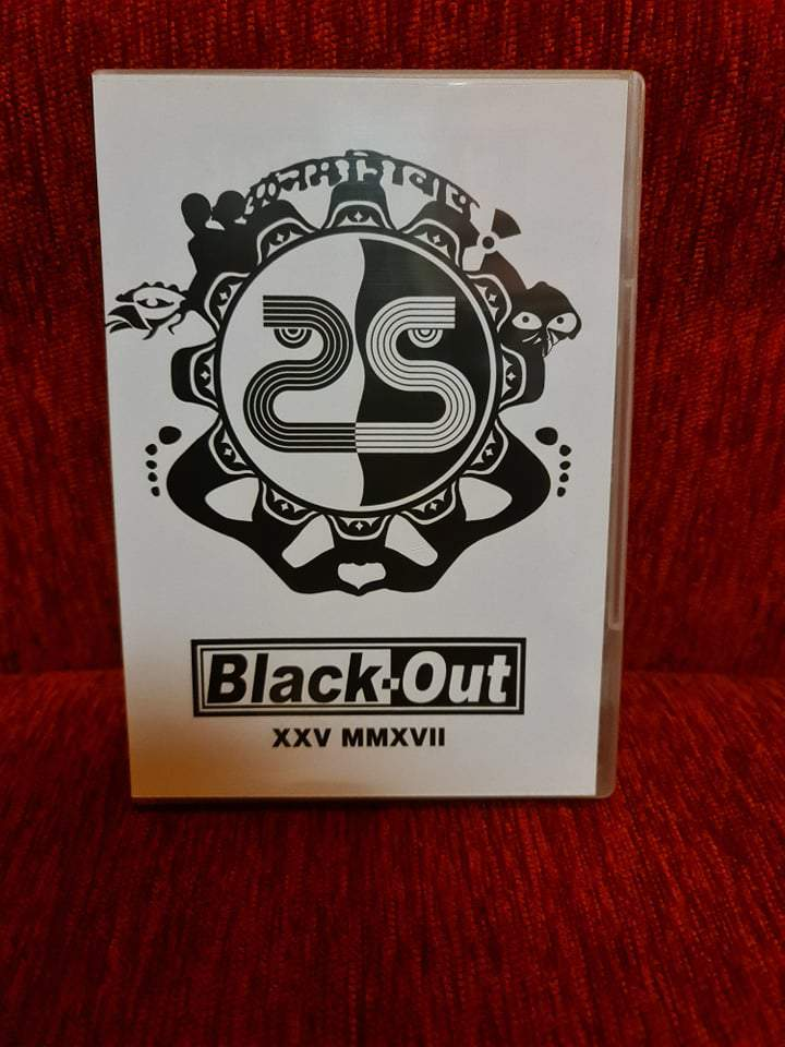 BLACK-OUT - XXV - 25 ÉVES JUBILEUMI KONCERT DVD