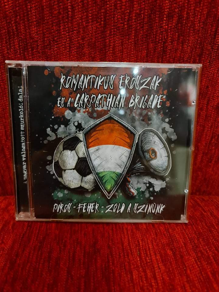 ROMANTIKUS ERŐSZAK - PIROS-FEHÉR-ZÖLD A SZÍNÜNK CD