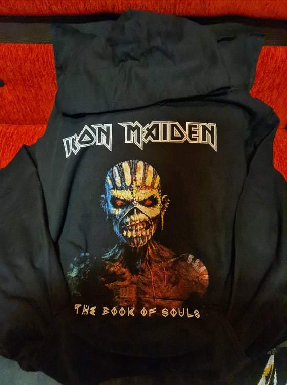 IRON MAIDEN - THE BOOK OF SOULS BELEBÚJÓS PULÓVER
