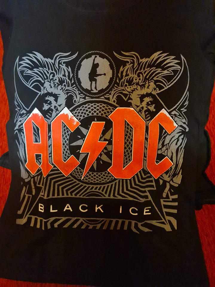 AC/DC - BLACK ICE NŐI PÓLÓ