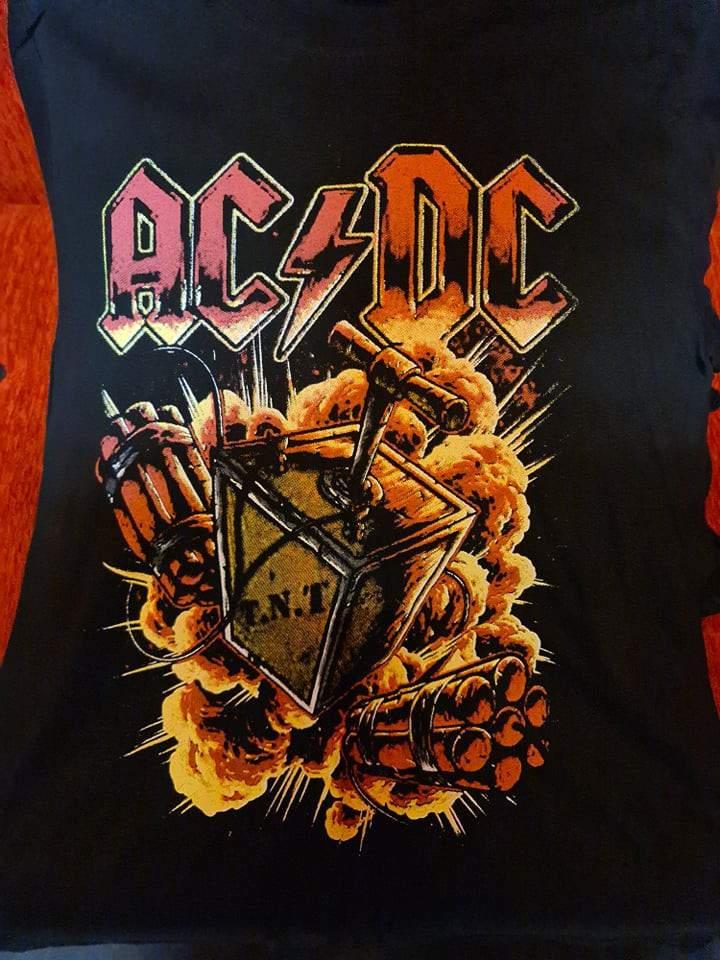 AC/DC - T.N.T. FÉRFI PÓLÓ