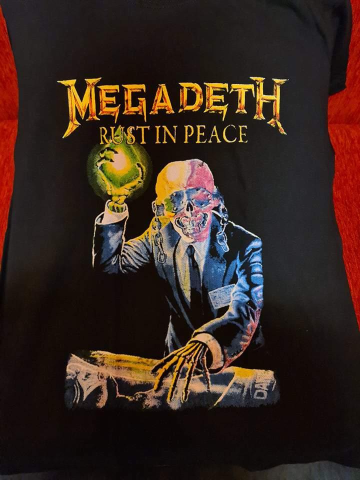 MEGADETH - RUST IN PEACE FÉRFI PÓLÓ