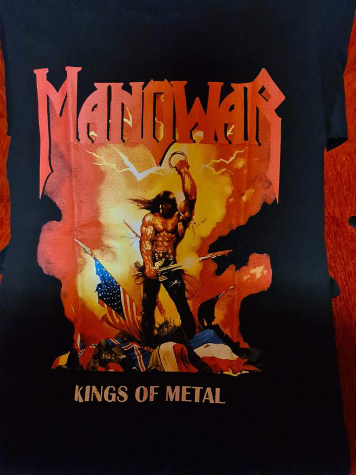 MANOWAR - KINGS OF METAL FÉRFI PÓLÓ