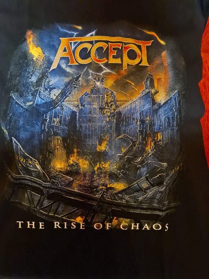 ACCEPT - THE RISE OF CHAOS FÉRFI PÓLÓ