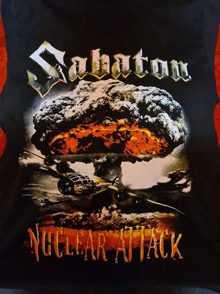 SABATON - NUCLEAR ATTACK FÉRFI PÓLÓ