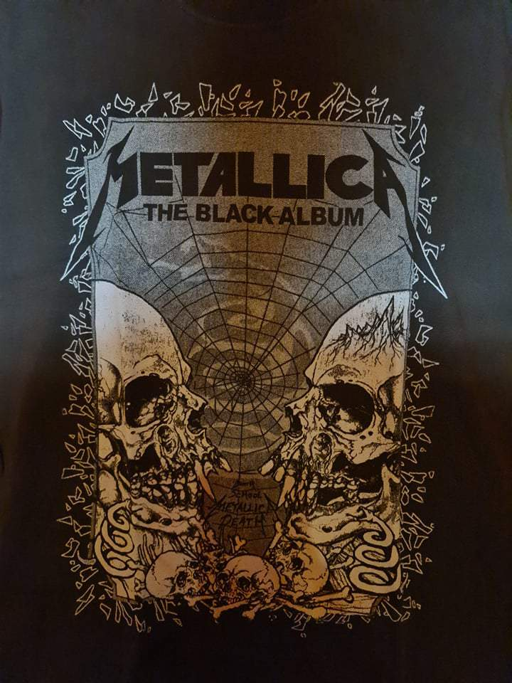 METALLICA - THE BLACK ALBUM DEATH FÉRFI PÓLÓ